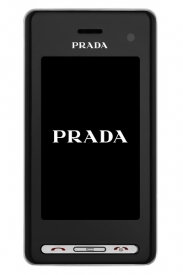Design přístroje je dílem návrhářů značky Prada.