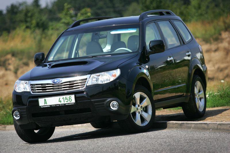 Subaru Forester 2 5 Xt Z Lesa Mezi Suv Tyden Cz