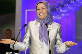 Šéfka (de jure) Lidových mudžáhidů, Maryam Radžavíová.