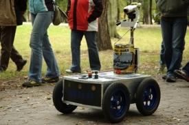 Robot brněnského týmu RoboKop.