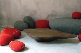 Živé kameny od francouzské designérky Stephanie Marine.